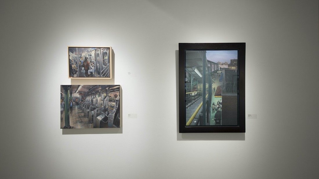 Track Work: 100 Years of New York City's Subway - Installation View