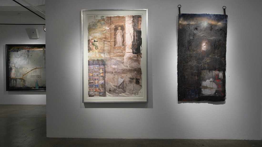 Binding Wires: John Mellencamp and Robert Rauschenberg - Installation View