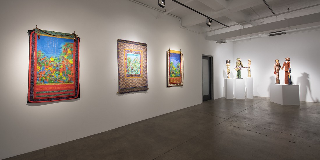 Faith Ringgold: The 70s - Installation View