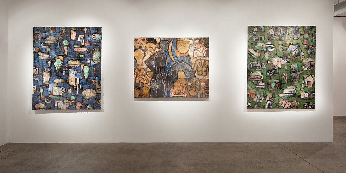 Michael Netter: Cryptographics - Installation View