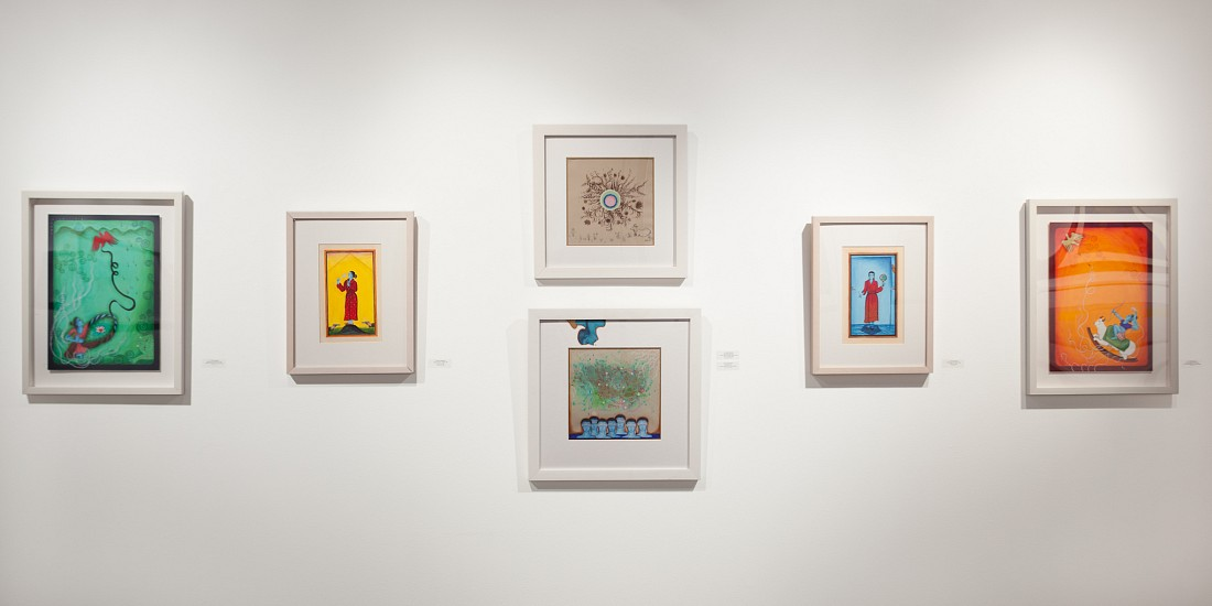 Paper Through the Ages - Installation View