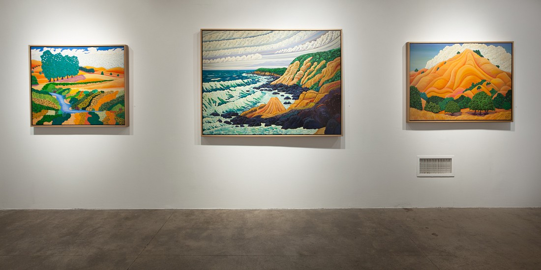 Jack Stuppin: Homage to the Hudson River School - Installation View