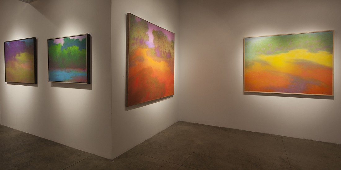 Herb Alpert & Richard Mayhew – Harmonic Rhythms  - Installation View