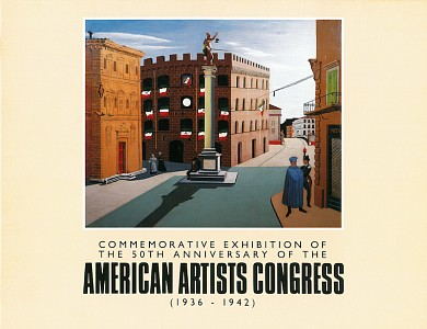 Commemorative Exhibition of the 50th Anniversary of the American Artists Congress (1936 - 1942),  Various Artists, 1986
