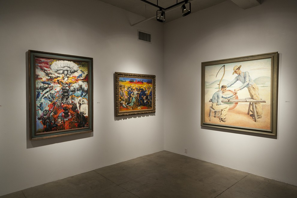 SOCIAL ART IN AMERICA: THEN AND NOW - Installation View
