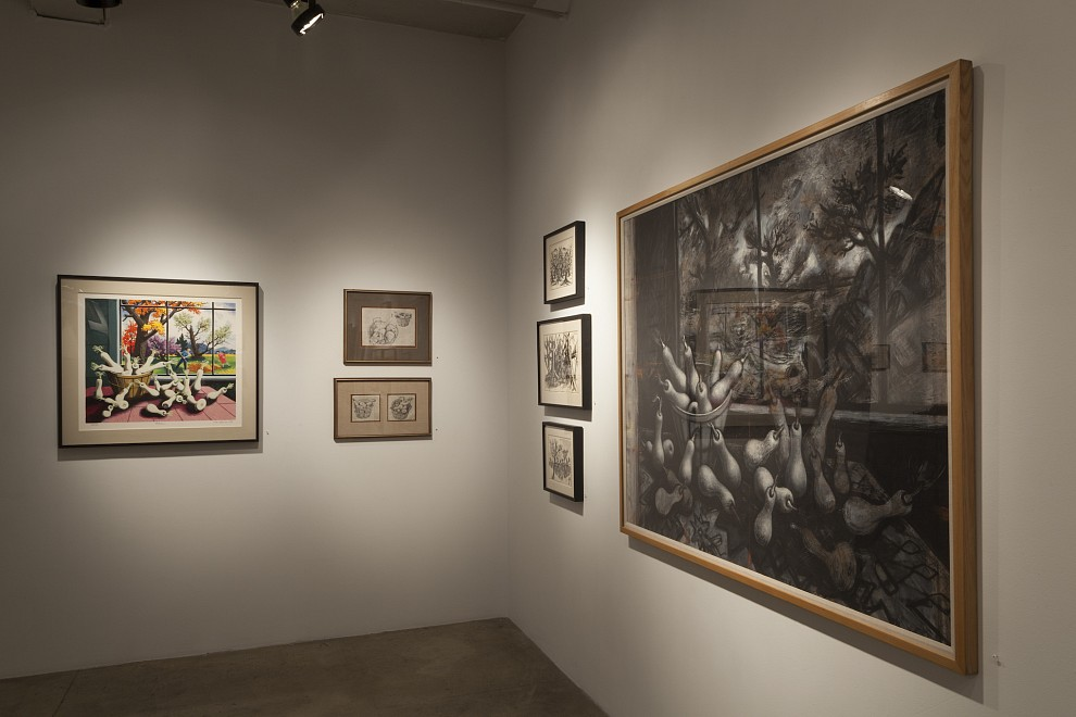 PETER BLUME (1906-1992) - Installation View
