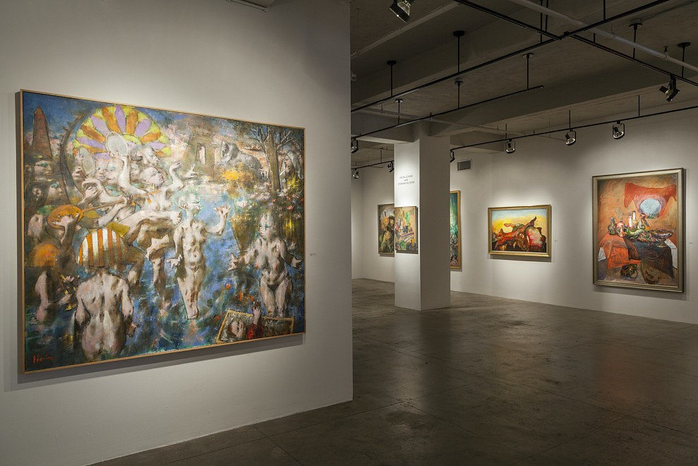 JACK LEVINE and HYMAN BLOOM: AGAINST THE GRAIN
