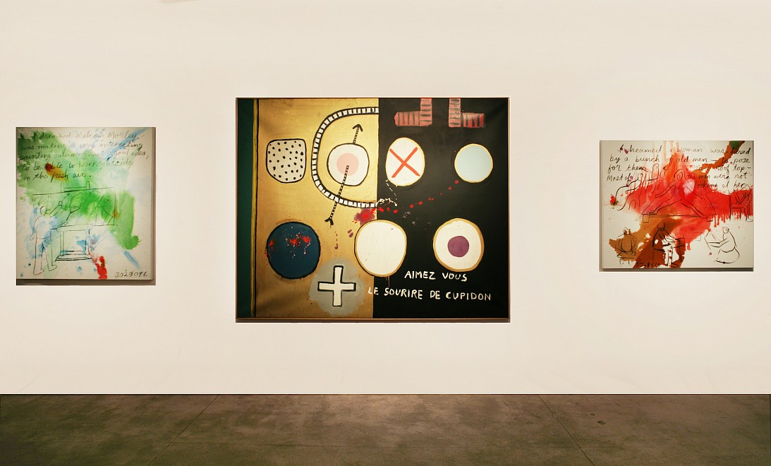 TEXTURES: The Written Word in Contemporary Art - Installation View