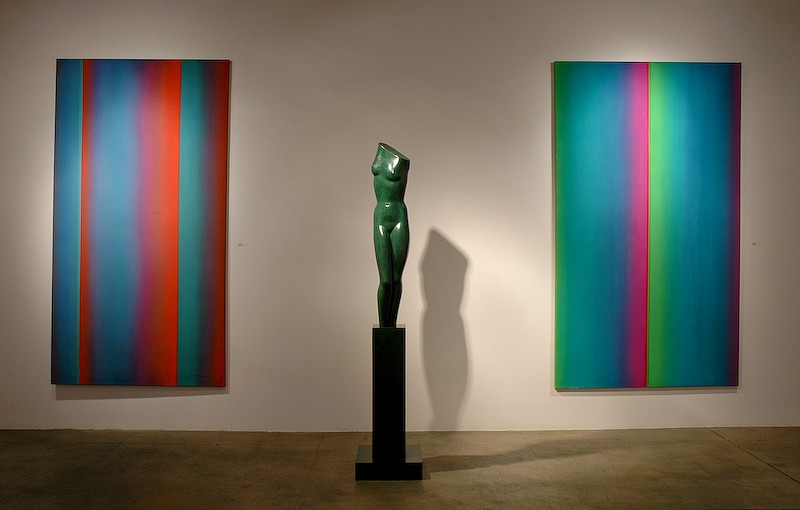 Color & Form: Leon Berkowitz & Anita Huffington - Installation View
