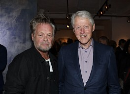 Press: John Mellencamp's Art Is on Display Alongside Robert Rauschenberg's in a New Exhibit, October 24, 2019 - Rachel Wallace