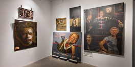 "Press: John Mellencamp: ""Life, Death, Love, Freedom"" at ACA Galleries, May  9, 2018 - Arte Fuse, Kristine Roome"