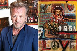 Press: Proof John Mellencamp is actually a really talented painter, October 24, 2015 - The New York Post, Barbara Hoffman
