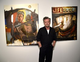 Press: John Mellencamp's second NYC art show draws starry crowd, April 30, 2018 - Page Six, Emily Smith