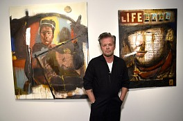 Press: John Mellencamp's Art Exhibit 'Life, Death, Love and Freedom' Opens in New York, April 28, 2018 - Billboard