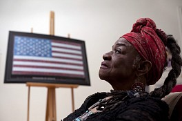 News: Faith Ringgold's 'American People, Black Light', June 13, 2013 - The Washington Post, Lonnae O'Neal Parker